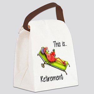 Retirment Canvas Lunch Bag