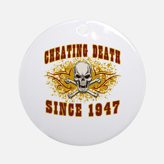 cheating death 1947 Round Ornament