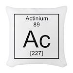 89. Actinium Woven Throw Pillow