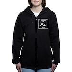 89. Actinium Women's Zip Hoodie