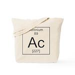 89. Actinium Tote Bag