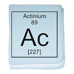 89. Actinium baby blanket