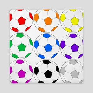 Soccer Ball Queen Duvet