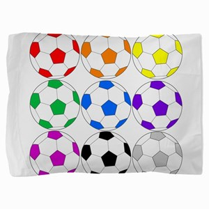 Soccer Ball Pillow Sham