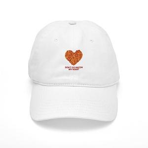 b8e4bff3a18fa I Heart Bacon Hats - CafePress