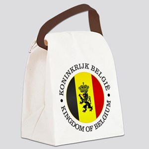 Belgium (rd) Canvas Lunch Bag