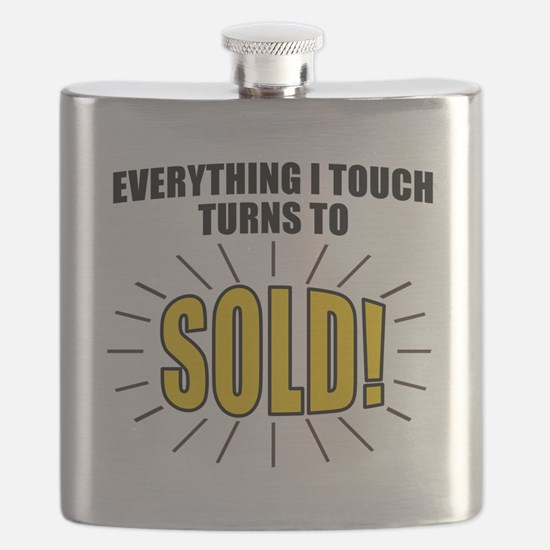 Everything I touch turns to SOLD! Flask