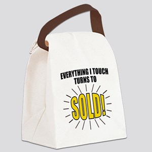 Everything I touch turns to SOLD! Canvas Lunch Bag