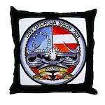 USS GEORGIA Throw Pillow