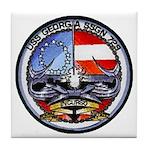 USS GEORGIA Tile Coaster