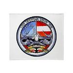 USS GEORGIA Throw Blanket