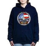 USS GEORGIA Women's Hooded Sweatshirt