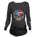 USS GEORGIA Long Sleeve Maternity T-Shirt