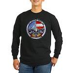USS GEORGIA Long Sleeve Dark T-Shirt