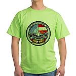 USS GEORGIA Green T-Shirt