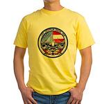 USS GEORGIA Yellow T-Shirt