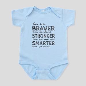 Braver Stronger Smarter Body Suit