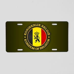 Belgium (rd) Aluminum License Plate