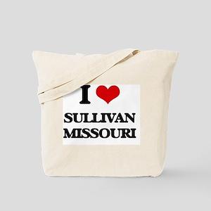 I love Sullivan Missouri Tote Bag