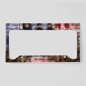 Vintage Civil War Ubion Soldi License Plate Holder