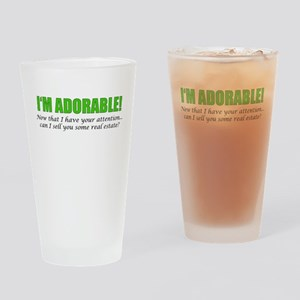 Im Adorable! Can I sell you some re Drinking Glass