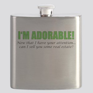 Im Adorable! Can I sell you some real estate Flask