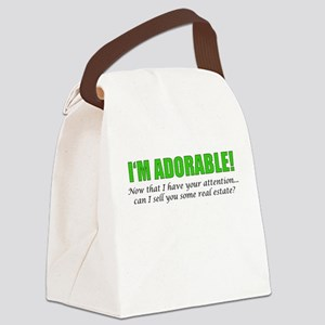 Im Adorable! Can I sell you some Canvas Lunch Bag