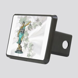 Lady Justice - Satin & Rectangular Hitch Cover