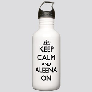 Keep Calm and Aleena O Stainless Water Bottle 1.0L