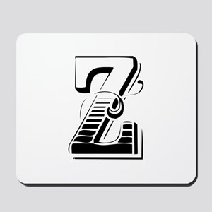 Z-Max black Mousepad