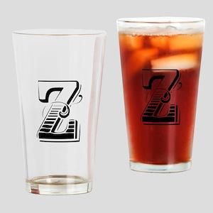 Z-Max black Drinking Glass