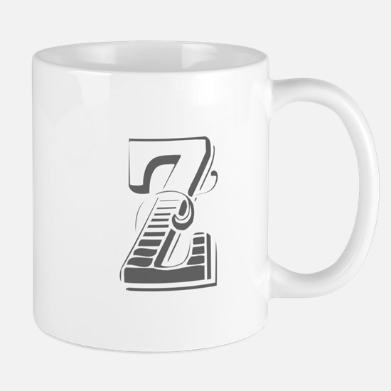 Z-Max gray Mugs