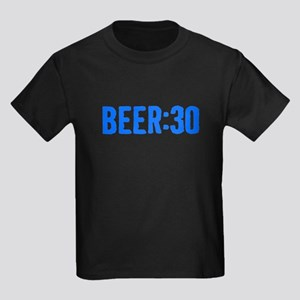 Beer:30 Kids Dark T-Shirt