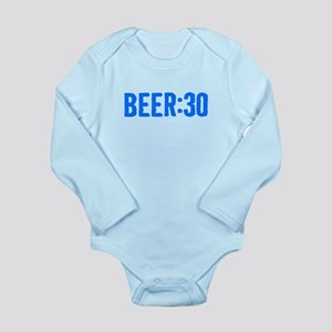 Beer:30 Long Sleeve Infant Bodysuit