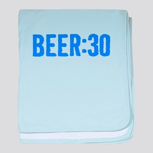 Beer:30 baby blanket