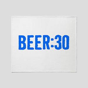Beer:30 Throw Blanket