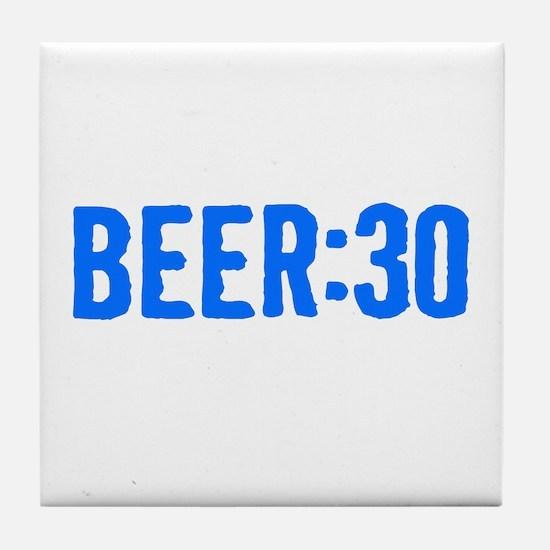 Beer:30 Tile Coaster
