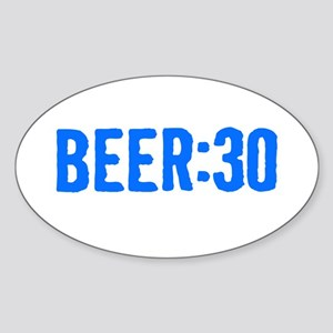 Beer:30 Sticker (Oval)