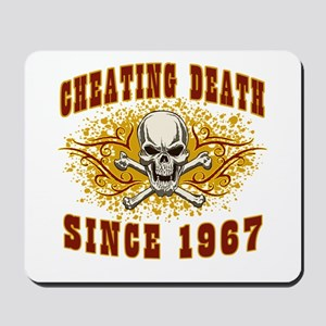Cheating death 1967 Mousepad