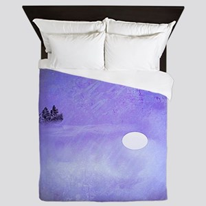 Only the Moon is Still Queen Duvet