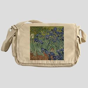 Van Gogh - Irises Messenger Bag