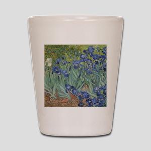Van Gogh - Irises Shot Glass