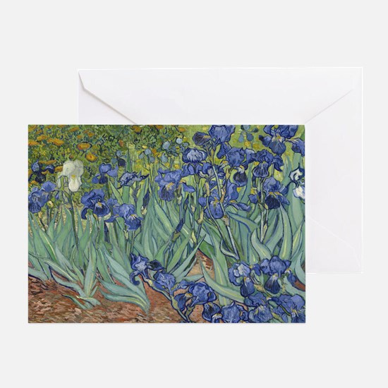 Van Gogh - Irises Greeting Card