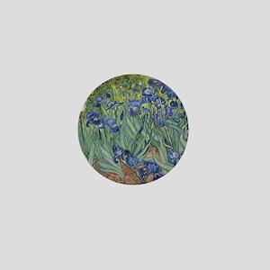 Van Gogh - Irises Mini Button