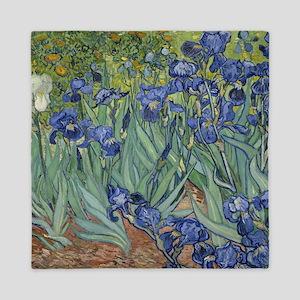 Van Gogh - Irises Queen Duvet