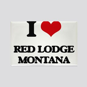 I love Red Lodge Montana Magnets