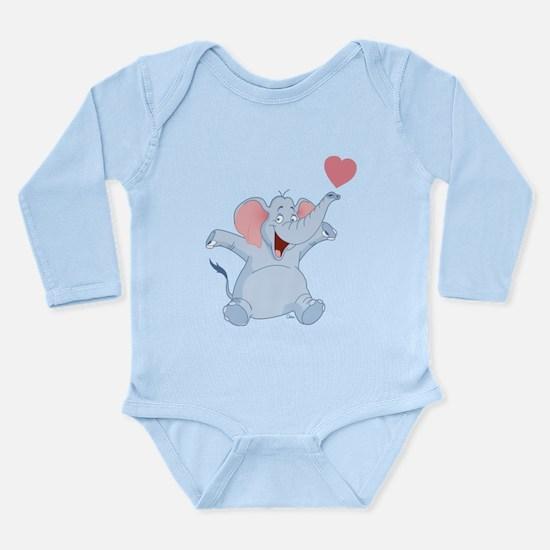 Valentine Elephant Body Suit
