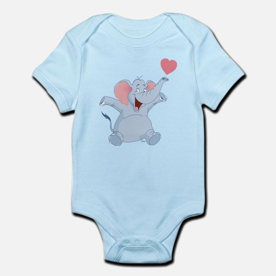Valentine Elephant Body Suit