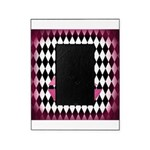 Pink Sailboat Black Diamonds Picture Frame