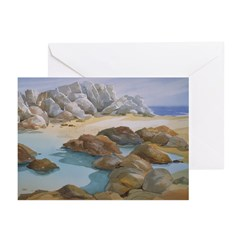 Rocks and Tide Pool Note Cards (Pk of 10)